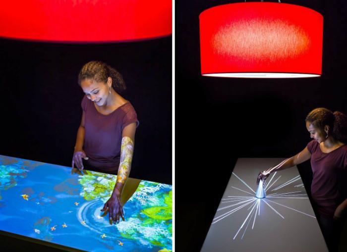 Интерактивный столик для творчества. | Фото: Офигенно.