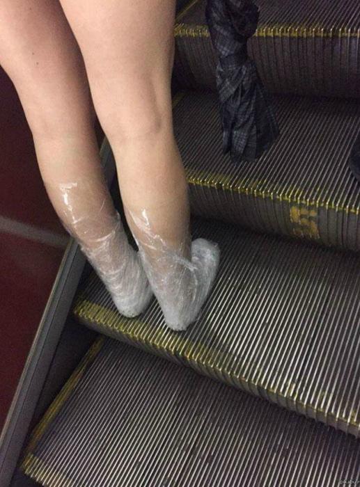 Муж решил вопрос с новой обувью. | Фото: Steemit.