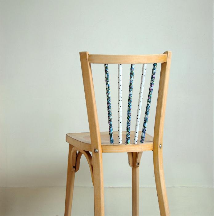 Оформление частей стульев.