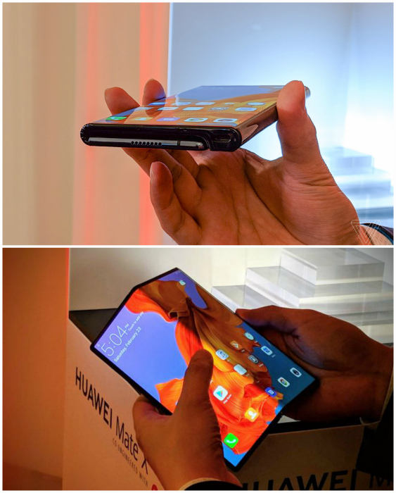 Складной смартфон-планшет. | Фото: Habr.
