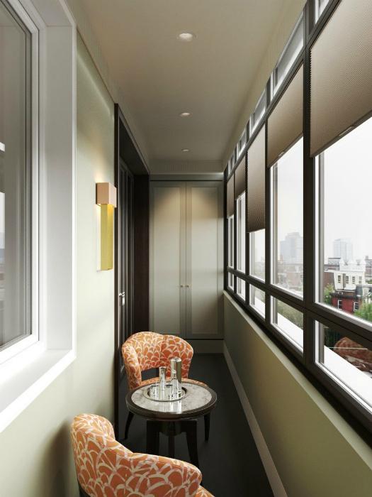 Кофейня на балконе. | Фото: Mebel-Go.ru.