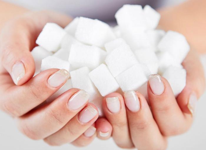 Пристрастие к сахару.
