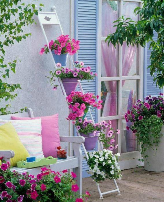 Украшаем балкон и террасу растениями