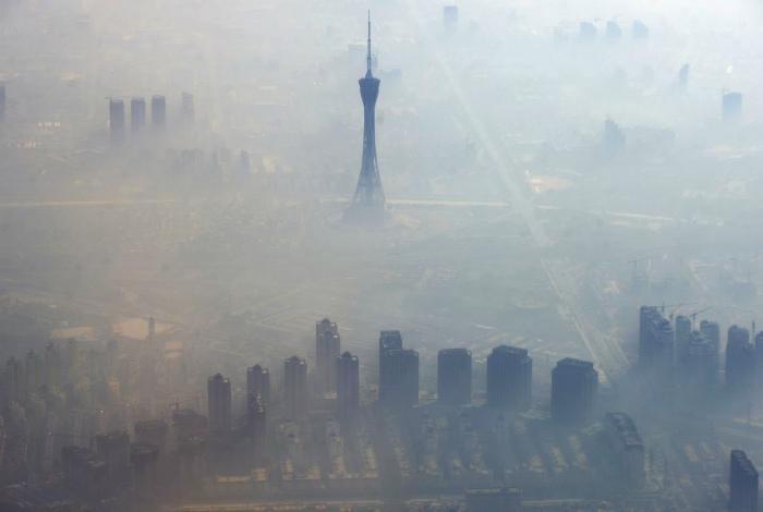 Ужасное качество воздуха.