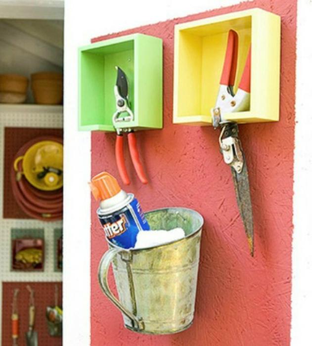 Декоративные полочки для хранения. | Фото: Ярмарка Мастеров.