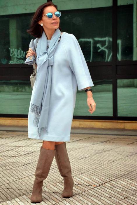 Купите элегантное пальто. | Фото: Pinterest.