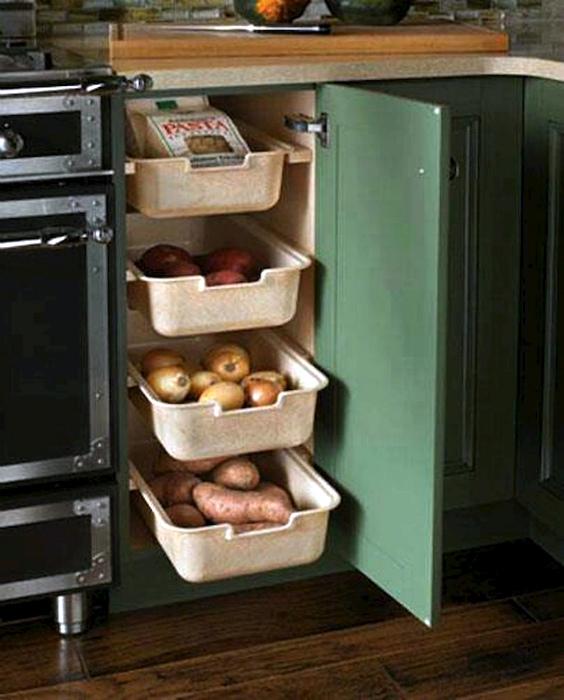 Ящик для овощей. | Фото: www.pinterest.ru.