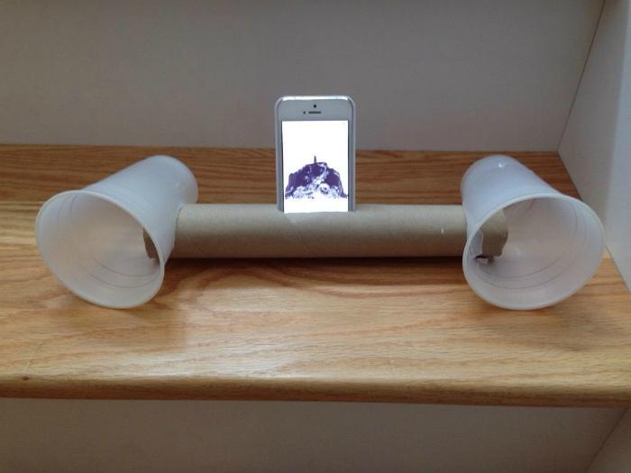 Усилитель звука для телефона.