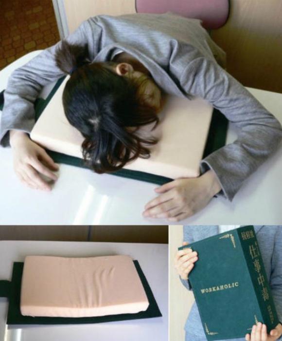 Подушка в виде книги.