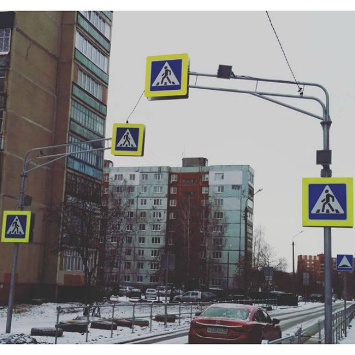 Самый безопасный пешеход.