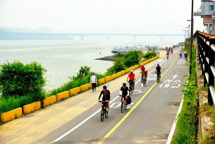 Популярный велосипедный маршрут.
