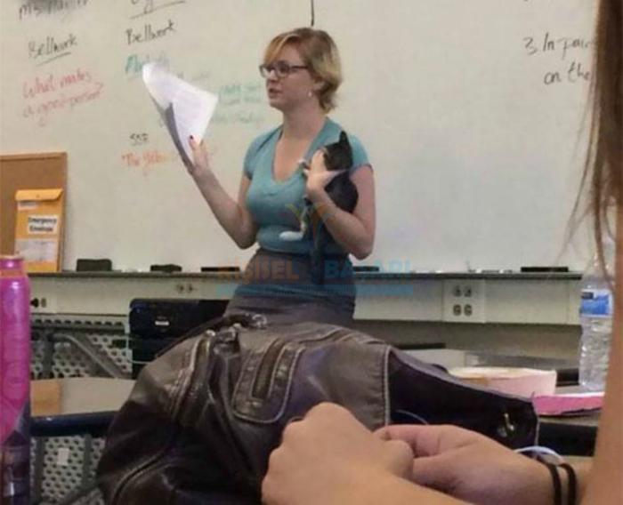 Учительница,