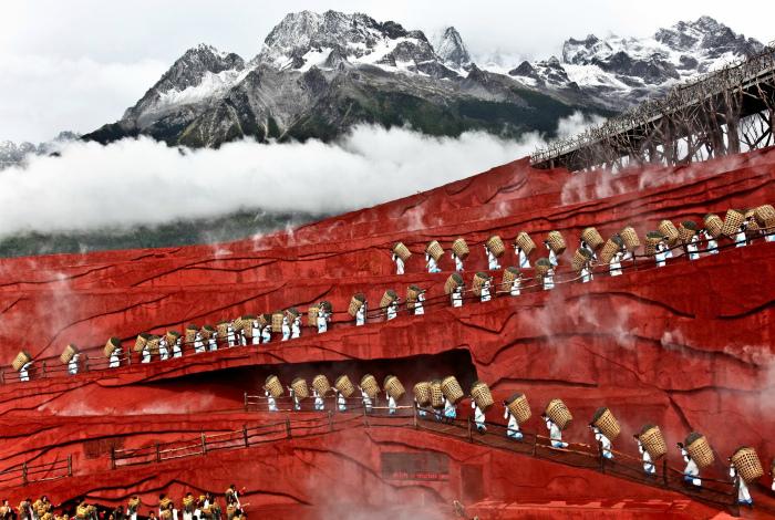 Провинция Юннан, Китай.