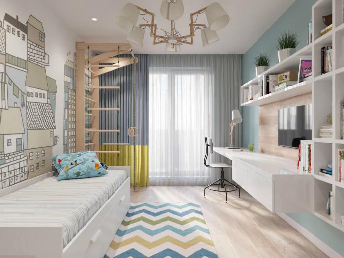 Продуманный комфорт каждой комнаты. | Фото: Skolius.