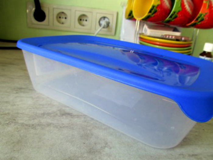 Пластиковые контейнеры для еды. | Фото: OBYAVA.ua.
