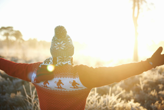 Зимнее солнце не опасно. | Фото: Pete Muller.