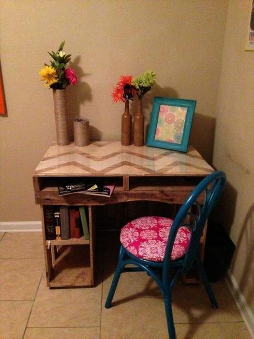 Компактный рабочий стол. | Фото: Zewaka.net.