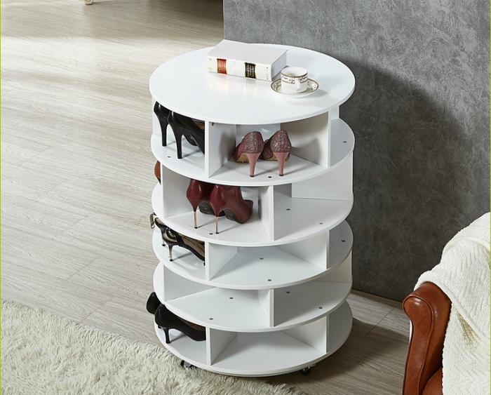 Круглая стойка для обуви. | Фото: study365.online.
