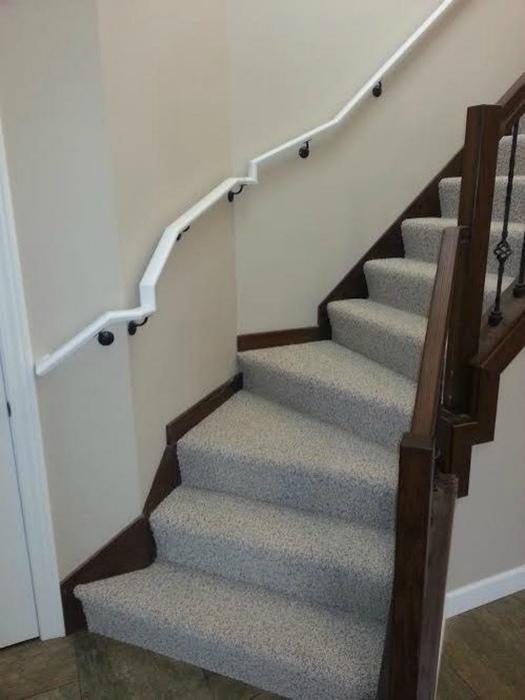 Кривая лестница.