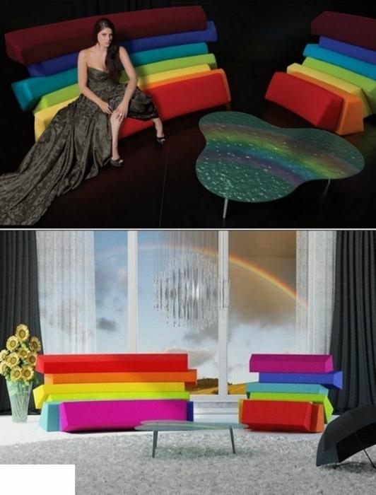 Мебель «Iris» от дизайнера Любо Майера.