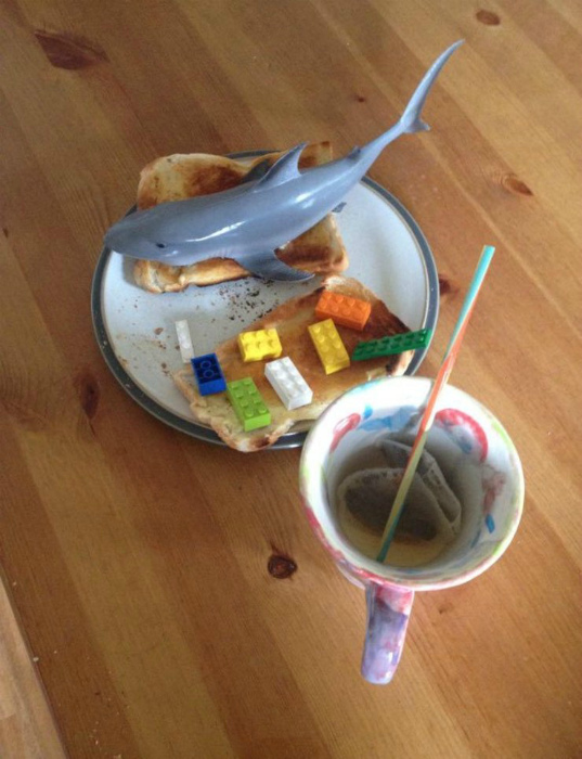 Завтрак для мамы.