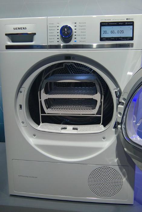 Стиральная машина Siemens.