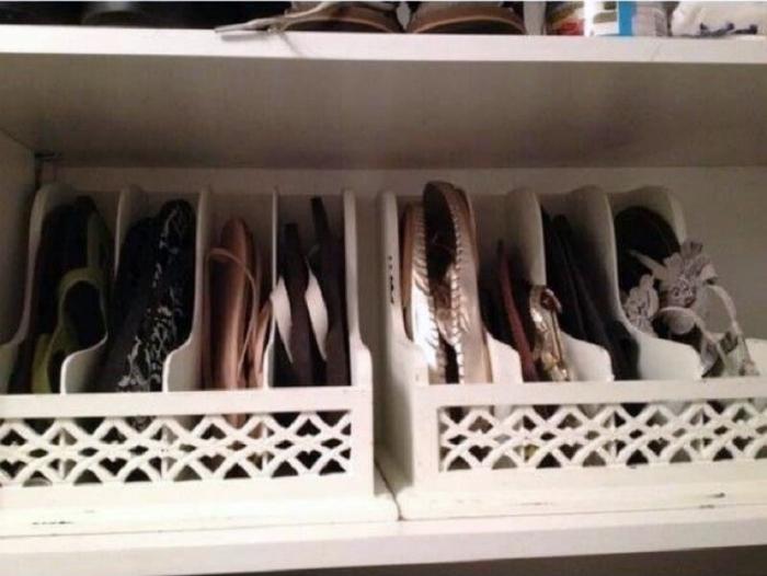 Оригинальные контейнеры для обуви.