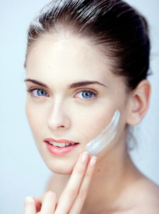 Защитный крем для лица.