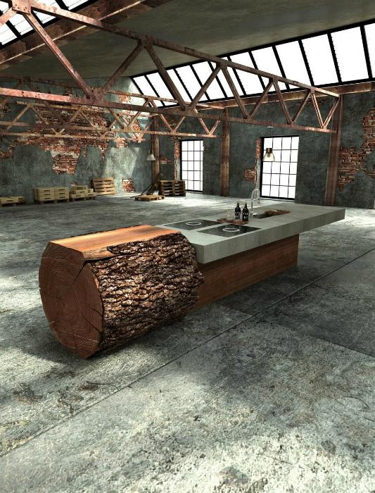 Рабочая поверхность кухни от Вилли Брукбауэра.