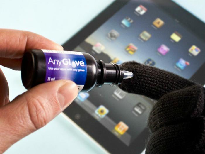 Капли для touch-скрина AnyGlove.