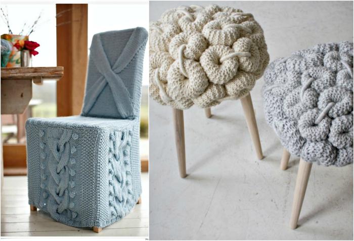 Уютные чехлы для мебели.