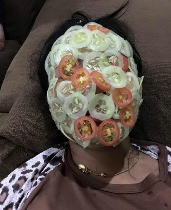 Когда твоя жена - овощной салат! | Фото: Humor.fm.