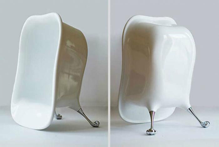 Удивительное кресло в виде ванны от дизайнера Ки Ким.