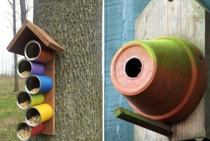 Кормушки для птиц. | Фото: Домоседы.