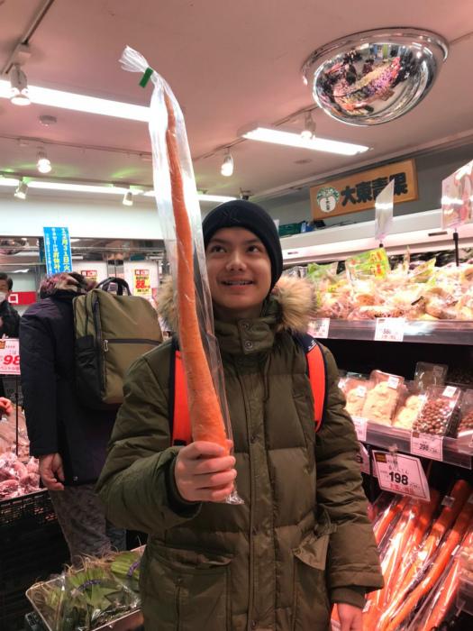 Вот это морковка... Возможно, она кончиком коснулась ядра Земли! | Фото: MyLove.Ru.