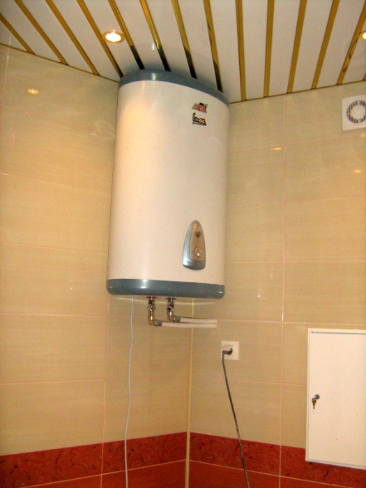 Использование водонагревателя.