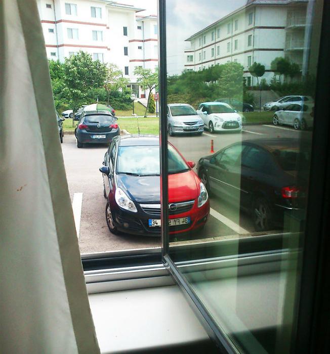 Два цвета одной машины.