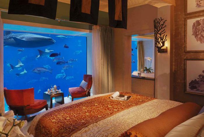 Отельный номер под водой. | Фото: Knews.
