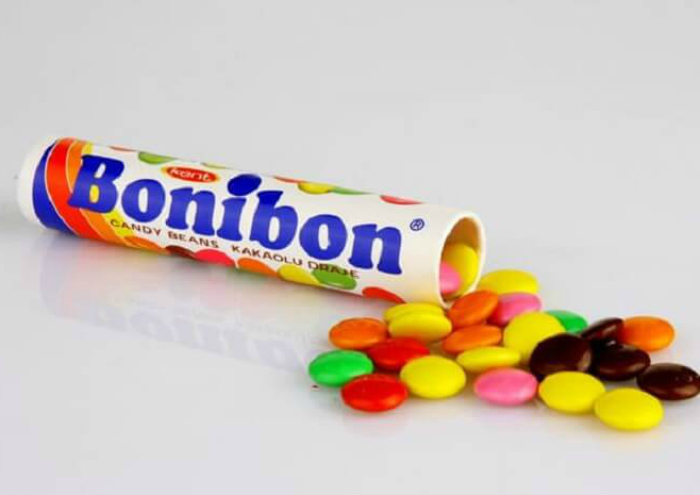 Цветные драже Bonibon.