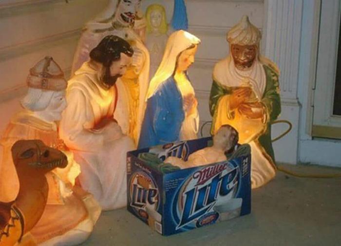 Рождественская композиция.