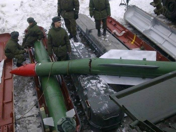 Ракету уронили.