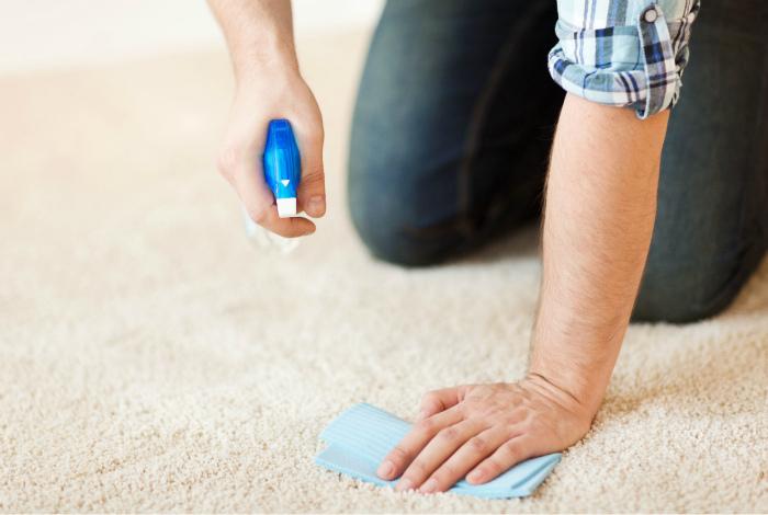 Пятна на ковре.   Фото:iProperty.