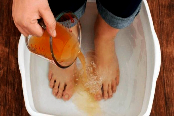 Ванночка с добавлением чая. | Фото: LiveInternet.