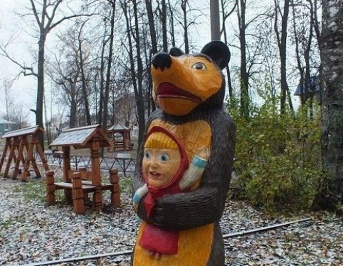 Маша в заложниках у Медведя.