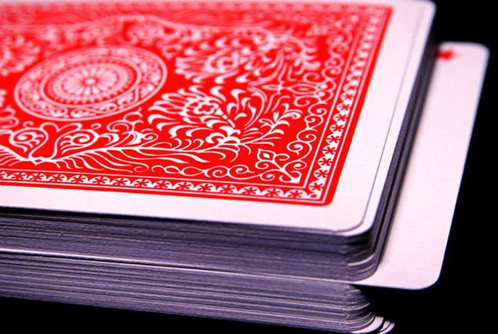 Обновить колоду карт.