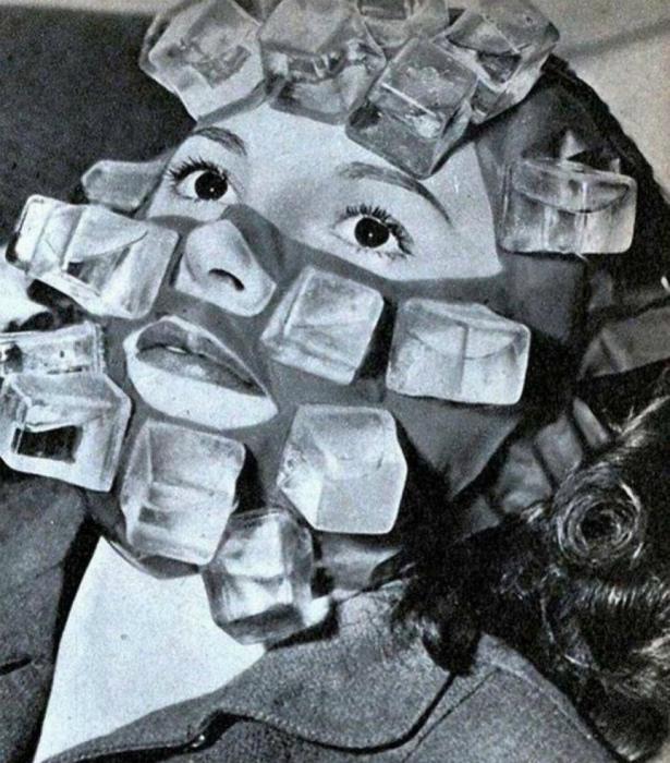 Охлаждающая маска от похмелья.