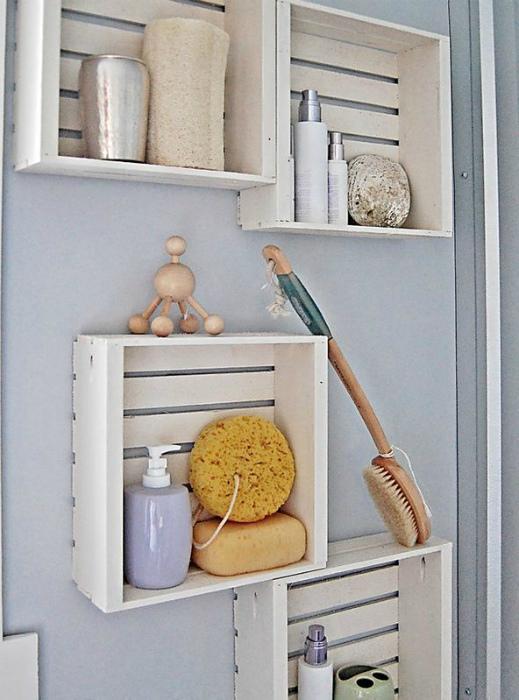Полки-ящики. | Фото: InfoHome.com.