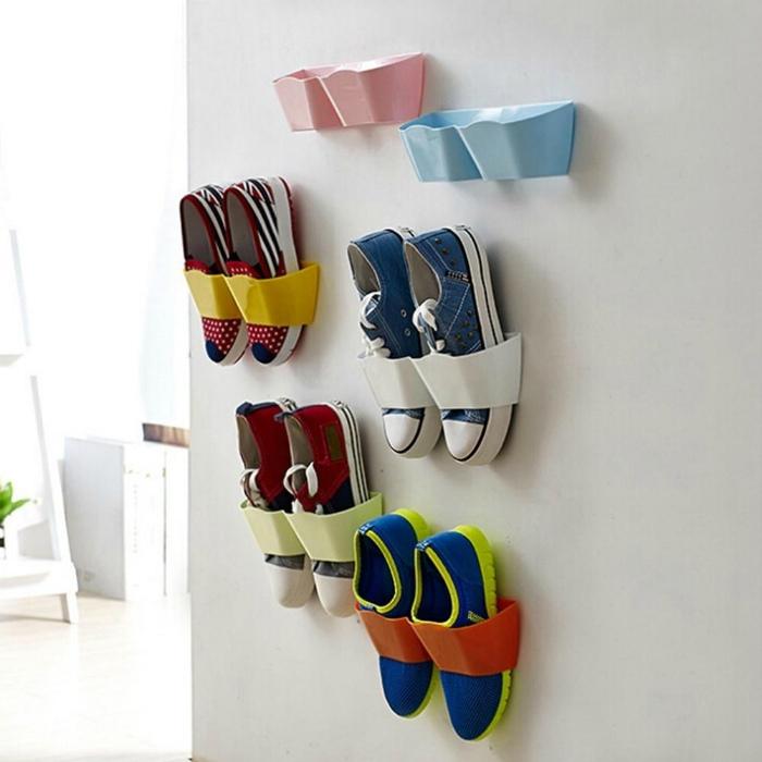 Яркие карманы для обуви. | Фото: Jidiletter.co.