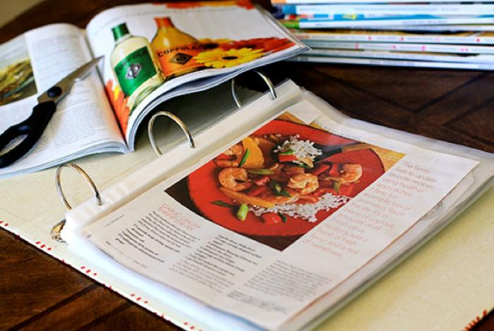 Кулинарные книги на кухне. | Фото: Большой Вопрос.
