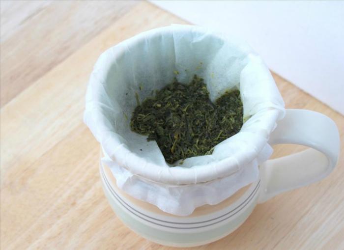 Альтернативный фильтр для чая и кофе. | Фото: Kitchen Decorium.
